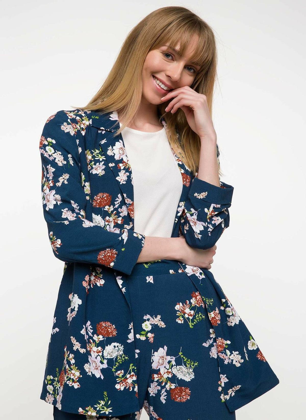 Defacto Desenli Uzun Blazer Ceket I7308az18spgn800ceket – 99.99 TL